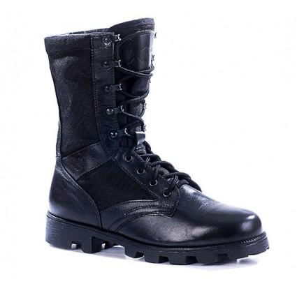 "Russian leather tactical black BOOTS ""KALAHARI"" 1411"