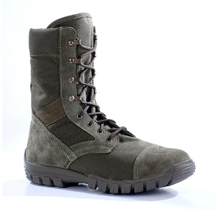 Russian leather tactical boots TROPICAL olive 3351