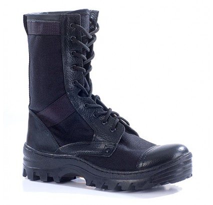 "Russian leather tactical BOOTS ""TROPIK"" 35"
