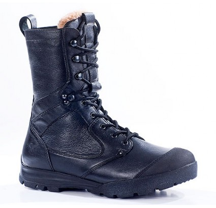 "Russian leather warm winter tactical Assault BOOTS ""SAPSAN"" 5022"