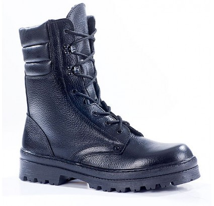 "Russian leather warm winter tactical Assault BOOTS ""OMON"" 700"