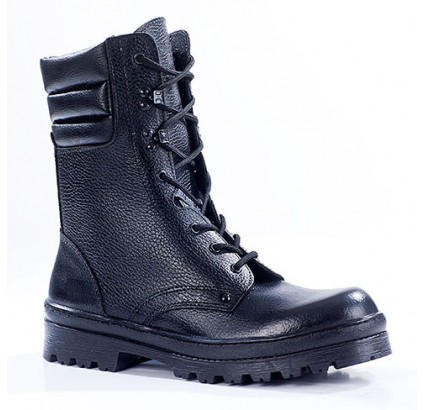 "Russian leather tactical BOOTS ""OMON"" 701"