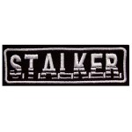 STALKER game embroidery stripe patch 108