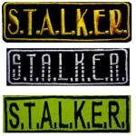 3 STALKER Streifen Patches 117