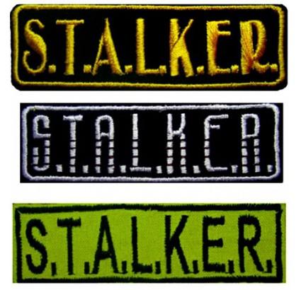 3 bandes de STALKER patchs 117