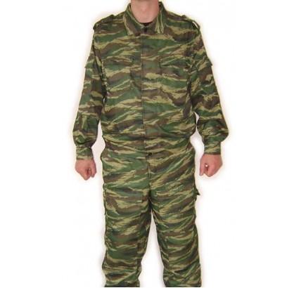 Verano Spetsnaz camo uniforme TIGRE verde caña modelo