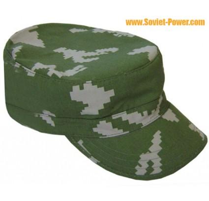 ロシア軍KLMK迷彩帽子「白樺」白樺キャップ