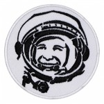 Gagarin Soviet Pilot And Cosmonaut The first man in space Embroidered Patch