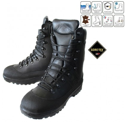 Russian Army Heavy Duty winter leather boots BTK GORE-TEX