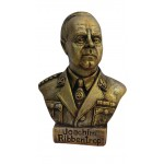 Bronze bust of  Foreign Minister of Germany Ulrich von Ribbentrop