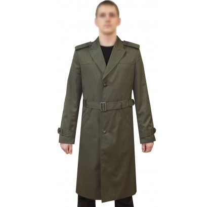 USSR Officers coat Russian Army green overcoat