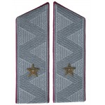 Red Infantry Army General uniform Russian shoulder boards