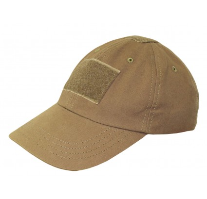 Ripstop tactical khaki hat velcro cotton baseball cap