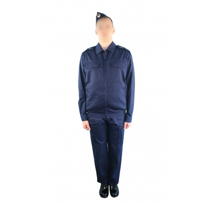 Soviet sailors Navy everyday uniform shirt with trousers and pilotka hat