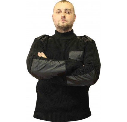 Russian Military black extra warm airsoft tactical winter sweater