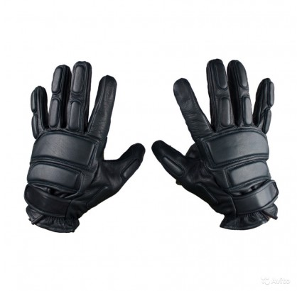 Leather gloves 6SHA122 tactical Russian combat gear