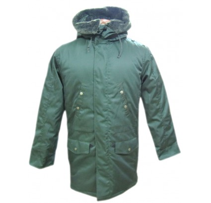 Russian Army Olive parka warm Jacket military winter coat with hood