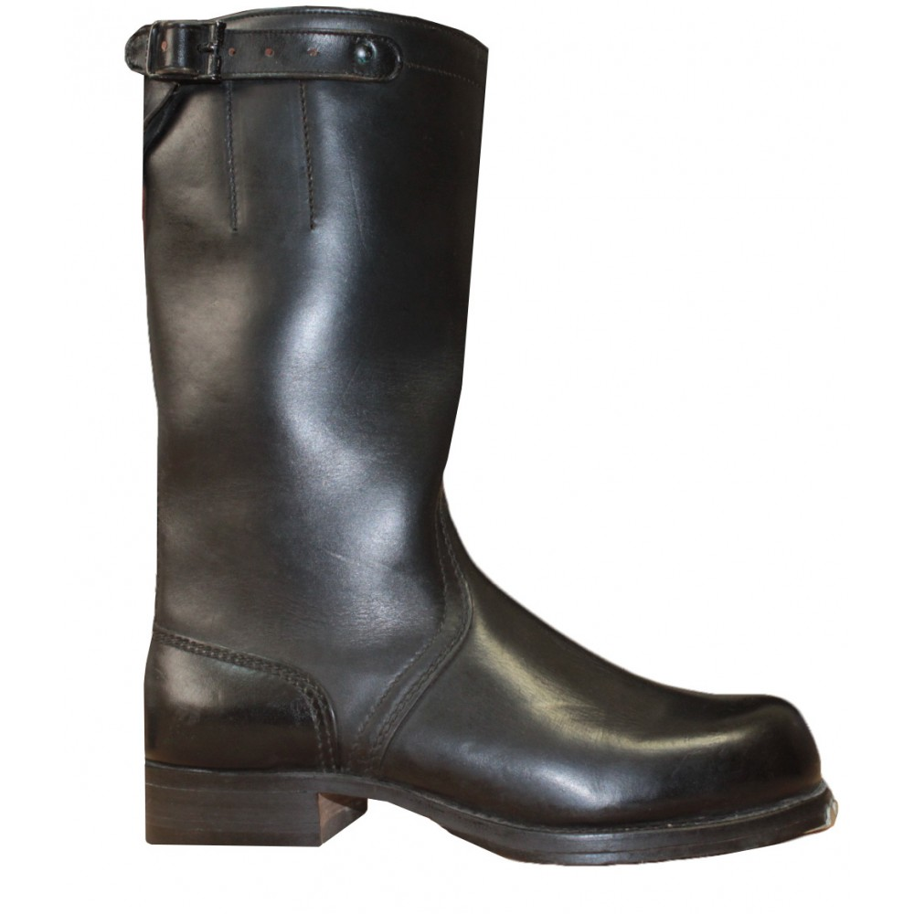 German Bundeswehr high leather boots with Continental
