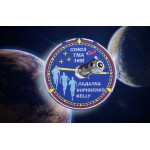 Soyuz TMA-16M Patch spaziale Roskosmos Expedition ricamato russo