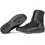 "Russian military tactical black Summer Boots GARSING 132 ""Leather Shark"""
