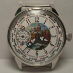 "Molnija watch ""The castle"" Russian mechanical USSR wristwatch"