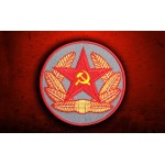 Red star hammer and sickle Embroidered Soviet Union USSR patch