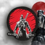 Sekiro: Shadows Die Twice Stickerei Samurai besticktes Spiel Iron-on / Velcro Patch