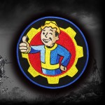 Fallout 4 Goty Emblem embroidered Iron-on / Velcro patch