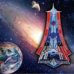 Toppa cucita con ricamo della stazione spaziale della Nasa Expedition 41