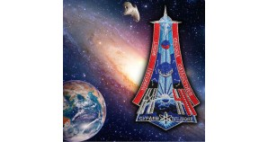 Nasa Expedition 41 Space Station Embroidery Sew-on Patch