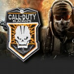 Logo Call of Duty Black Ops COD brodé patch de jeu à coudre / thermocoller