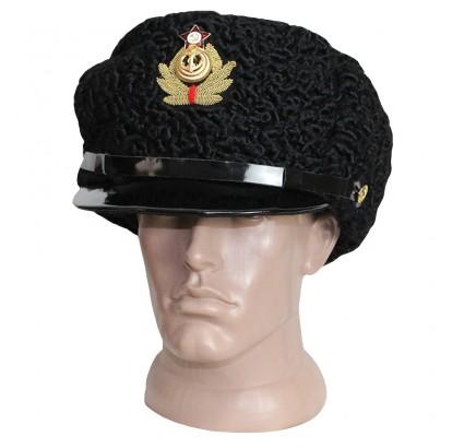 ソビエト海軍のアストラカン毛皮ロシア提督の帽子