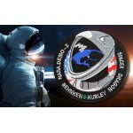 SpaceX Demo-2 Space Mission SpX Nasa IS sleeve Crew Dragon patch