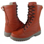 Modern Russian Tactical T3 Orange Chrome boots with leather lining