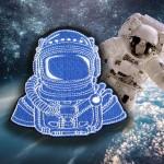 宇宙飛行士NASAミッションソーオン/アイアンオン刺繡パッチ #2
