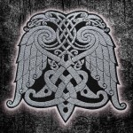 Knot Celtic Wings Embroidery Sew-On Sleeve Patch