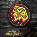 World of WarCraft Shaman Class Logo Embroidery Sew-on/Iron-on Patch