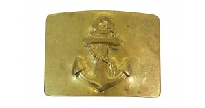 Soviet belt buckle of USSR Navy Fleet sailors Russian marines