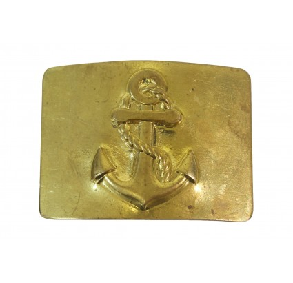 Soviet belt buckle of USSR Navy Fleet sailors Russian marines