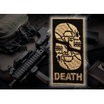 Russian Airsoft game Tactical Embroidered Sew-on Sleeve Skull patch