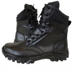Russian Troops Tactical M303 black military boots with cordura