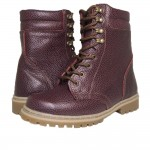 Russian Warm Tactical Boots M108 Fur Winter Burgundy