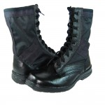 Russian Airsoft Tactical ankle boots K1 with fabric