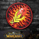 World of WarCraft Mage Class Logo Embroidery Sew-on/Iron-on Patch