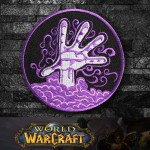 World of WarCraft Warlock  Class Logo Embroidery Sew-on/Iron-on Patch