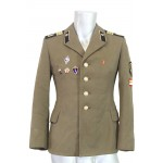 Genuine Soviet Officer's jacket Russian Army WWII with medals