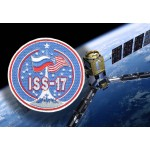 Space Expedition 17 ISS USA Patch per programma cucito ricamato sulla manica