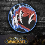 World of WarCraft Druid Class Logo Embroidery Sew-on / Iron-on Patch