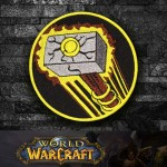 World of WarCraft Paladin Class Logo Embroidery Sew-on/Iron-on Patch
