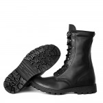 Military Tactical Summer Black Boots GARSING 05106 «STRANGER»